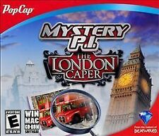Mystery P.I. The London Caper (PC, 2012) Windows Mac hidden object game