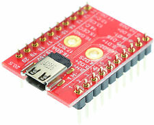 HDMI micro Type D Female socket Breakout Board, adapter,  eLabGuy HDMI-DF-BO-V1A