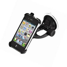 NUOVO auto iGrip Traveler Kit Apple iPhone 4s Aspirazione Mount Holder Nero t6-90503