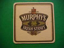 Beer Brewery Coaster ~*~ MURPHY'S Smooth, Irish Stout ~ Cork, IRELAND Since 1856