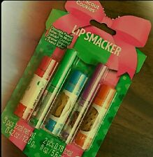 New Bonne Bell Girl Scout Cookie Lip Smacker collection Thin Mint Trefoil