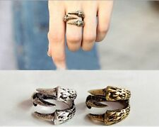 fantastic Dragon eagle claw ring statement jewellry velvet gift bag retro punk