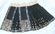 Antiker Rock Seide China antique chinese skirt silk brocade embroidered taoist