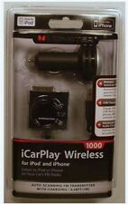 Monster Cable iCarPlay Wireless 1000 FM Transmitter USB Charger For iPod iPhone