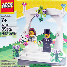 LEGO MiniFigure Favor Wedding set Bride Groom Table Decoration [40165] cake deco