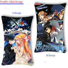 55x35CM Otaku Pillow Case Cover Japan Anime Sword Art Online VRMMORPG Aincrad #2