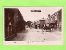 High Street looking West Stalham  Horse & Carriage unused RP pc  Ref B86