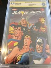 JLA / AVENGERS  # 1 CGC CBCS 9.8 SS  Signed By GEORGE PEREZ!!