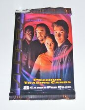 1 SEALED PACKAGE UNIVERSAL STUDIOS SLIDERS 1997 TRADING CARDS