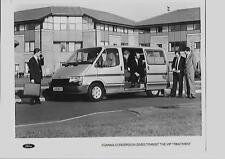 FORD TRANSIT INDIANA CONVERSION MINIBUS VAN PRESS PHOTO 1991 1992