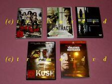 5 DVDs_Kush & Bitch Slap & Contract & Tödliches Vertrauen & Dark Water Dunkle W.