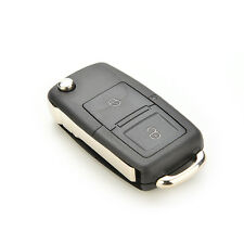 1pc 2 Buttons Folding Vehicle Remote Flip Key Shell Cover For VW GOLF MK4 BORA