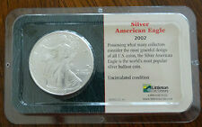 2002 Silver American Eagle Uncirculated Original Unopened Littleton Coin Company