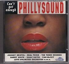 Phillysound-Can't get enough (Polystar, 1993) Love Unlimited Orch., Johnn.. [CD]
