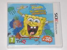 nickelodeon spongebob squigglepants NINTENDO 3DS