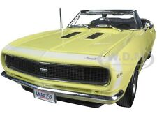 1967 CHEVROLET CAMARO SS 396 CONVERTIBLE YELLOW 1:18 MODEL CAR MAISTO 31684