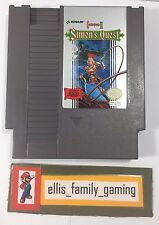 Castlevania II 2 Simon's Quest Original Nintendo NES Game Cleaned Works Great
