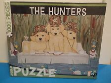 """""""The Hunters"""" Bird Hunting Dogs Puzzle 1000 Pieces *BRAND NEW* Mary Badenhop"""