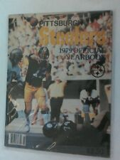 Vintage NFL 1979 PITTSBURGH STEELERS Official Team Yearbook BRADSHAW Cover