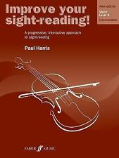 IMPROVE YOUR SIGHT-READING! VIOLIN, LEVEL 5 - NEW PAPERBACK BOOK