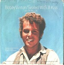 BOBBY VINTON--PICTURE SLEEVE ONLY---(SEALED WITH A KISS)--PS--PIC---SLV
