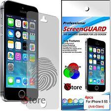 4 Pellicola Opaca Per iPhone 5S 5C 5 Antiriflesso Antimpronta Proteggi Schermo