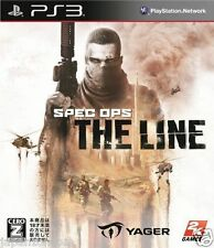 Used PS3  PSpec Ops: The Line SONY PLAYSTATION 3 JAPAN JAPANESE IMPORT