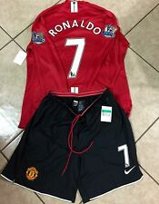 Manchester United Ronaldo Real Madrid Player Issue Shirt MatchUnworn Jersey