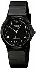 Casio Unisex MQ-24-1BLLGF Quartz Watch with Black Dial Analogue Display
