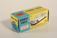 CORGI toys ford zephyr Motorway perspectives patrol, Only BOX #ab2122