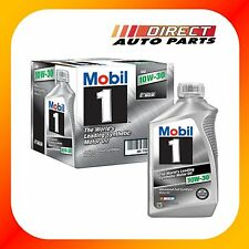 MOBIL 1 10W30 FULLY SYNTHETIC ENGINE OIL 6 QUARTS IN CASE