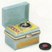 Elvis Presley Record Player PHB Porcelain Hinged Box by Midwest of Cannon Falls