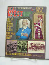 Jan 1975 REAL WEST Magazine- Vintage Western Srories & Photos (L9513-ARRI)