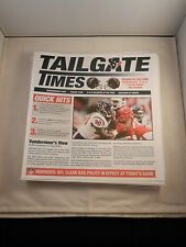 """2014 HOUSTON TEXAN TAILGATE TIMES """"NEW"""" FOR MOST HOME GAMES (9)          GROUP A"""