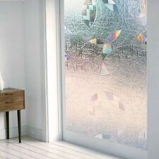 3D Static Cling Privacy Frosted Window Grass Film Superior No-Glue 90 X 200cm