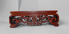 Solid China Rosewood rectangle Display stand For vase bottle teapot statue 01