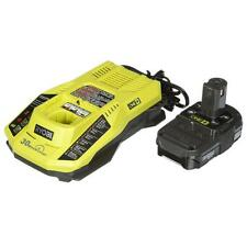 Ryobi P128 ONE+ 18-Volt Lithium-Ion Battery & IntelliPort Charger Upg Kit NEW