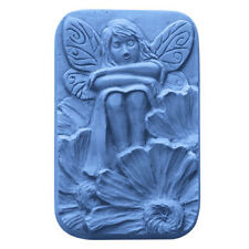 Fairy Flower Soap Mold Melt Pour Cold Process Milky Way Clear PVC W Instructions