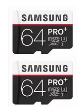 NEW!2pcs  64GB EVO Plus Memory Card 90MB/s Micro SD SDXC - Class 10*