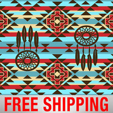 """Fleece Fabric Native American 60"""" Wide Style 5217 Free Shipping"""