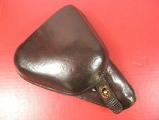 WWII Japanese Type 14 Clamshell Leather Holster for Nambu Pistol - Very Nice #2