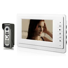 7 inch TFT LCD Color Video Door Phone Intercom Doorbell IR CMOS Camera Monitor