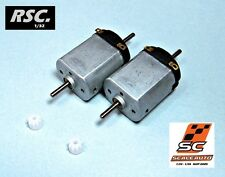 2 SCALEAUTO SC24 UNIVERSAL MOTOR 12 VOLTS 1:32 SCALEXTRIC NINCO PCS CARTRIX