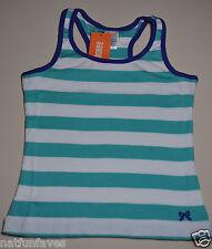 Gymboree girl size 5 NWT striped white green tank top girls 100% cotton