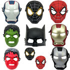 MARVEL HEROES FACE MASK ADULT HALLOWEEN COSTUME ACCESSORY PARTY MAKEUP GIFTS