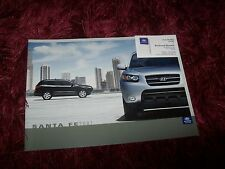 Catalogue  / Brochure HYUNDAI Santa Fe 2007 //