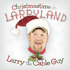 Christmastime in Larryland - LARRY THE CABLE GUY rare Redneck Comedy cd