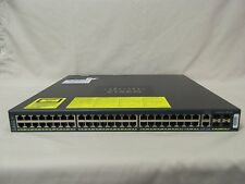 CISCO WS-C4948 48-Port Gigabit Layer 3 Switch entservices-15.0 Enhanced ios 4948