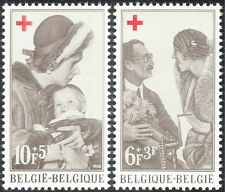 Belgium 1968 Red Cross/Royalty/Medical/Health/Welfare/Doctors/Children 2v n33741