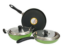 Diamond Premium Quality Induction Bottom Non-Stick Cookware 5 Pcs Gift Set